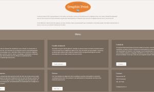webdesign graphic print